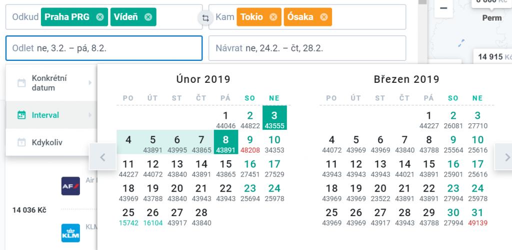 Kiwi.com hledání letenek